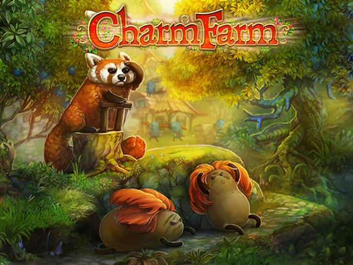 Protect the Magic Forest from Gwonks in Charm Farm