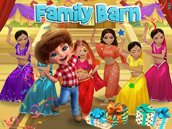 Have Fun at the Indian-Themed Party in Family Barn