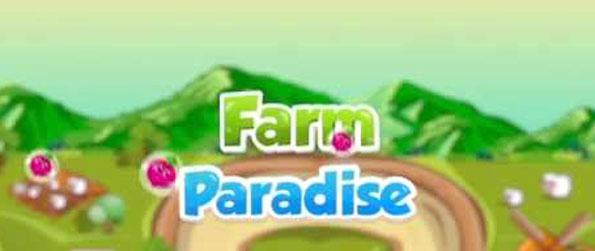 Farms Paradise - Manage your farm and sell your produce to earn profit in Farms Paradise.