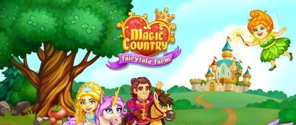 Magic Country Fairytale Farm - Save the princess, make potions and build an enchanted town in Magic Country Fairytale Farm!