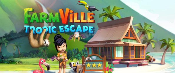 Farmville: Tropic Escape - Set up your very own tropical paradise in this brand-new Farmville sequel, Farmville: Tropic Escape!