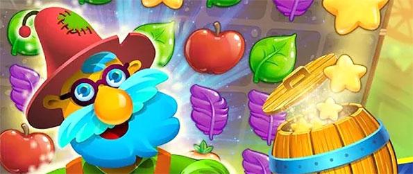 Farm Charm - Match 3 or more elements together to collect them from the board in this fun, farm-themed match-3 game!