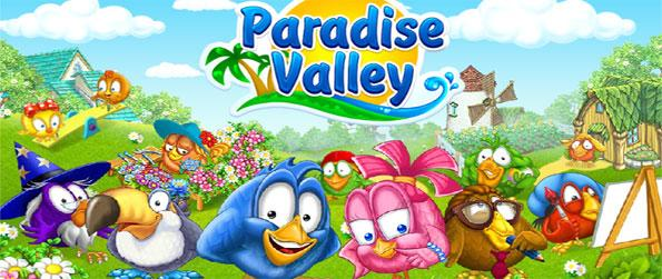 Paradise Valley - Enjoy this exciting simulation game that'll allow you to build your very own paradise.