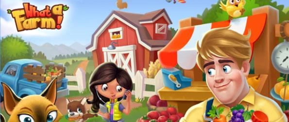 What a Farm! - Manage your grandfather's farm in What A Farm!