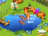 Lucky Fields: Fish pond