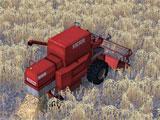 Farming Simulator 14 harvesting crops