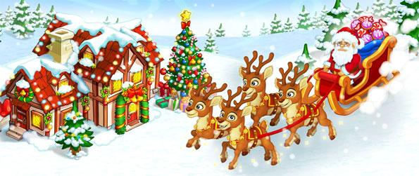 Happy New Year Farm: Christmas - Help Santa Claus as he tries to build his very own farm at the North Pole.