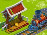 Golden Farm: Train station