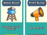 Farm and Click purchasing upgrades