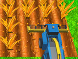 Harvesting wheat in Farmer Life