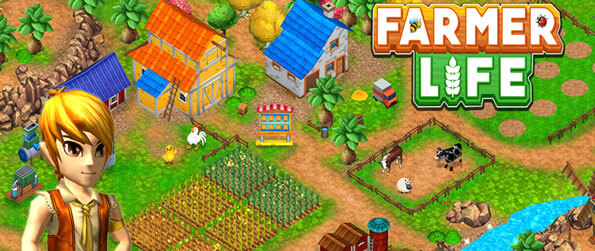 Farmer Life - Grow a wide variety of crops and turn them into processed goods in Farmer Life!