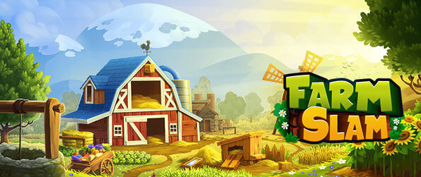 Farm Slam - Help to restore the rundown farm in the valley back to its previous glory in this farm-themed, match-3 puzzle game, Farm Slam!