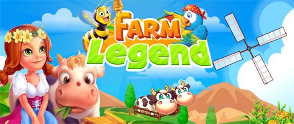 Farm Legend Paradise - Manage your perfect farm in Farm Legend Paradise.