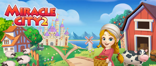 Miracle City 2 - Construct buildings, plant crops and mine ores to earn lots of coins in Miracle City 2!