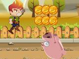 Frenzy Farm: Dodging a pig