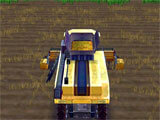 Farming Master 3D driving the harvester
