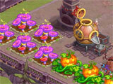 Monster Farm planting crops