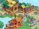 Village Life Large Town