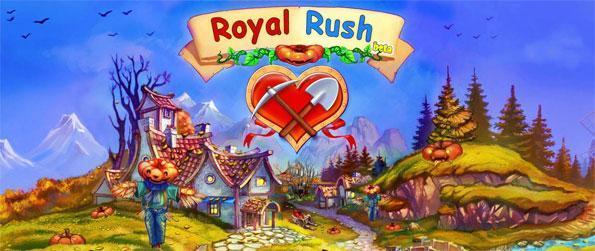 Royal Rush - Save the kingdom and the princess in a fun farm simulation game.