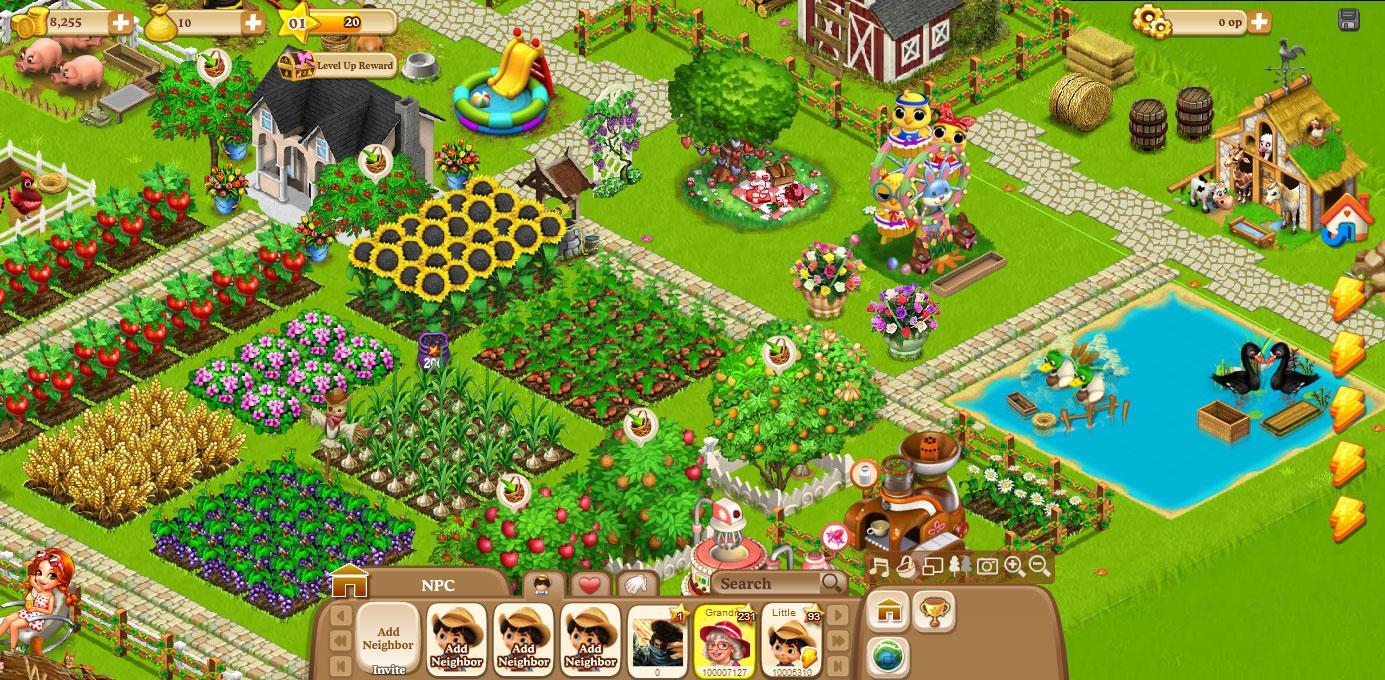 Happy Farm Online