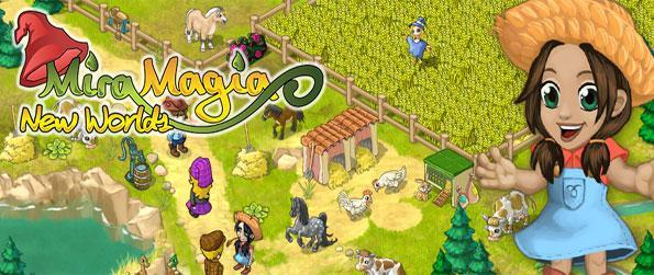 Miramagia - Create a magical farm full of crops and your own cute dragon in a wonderful simulation virtual game.