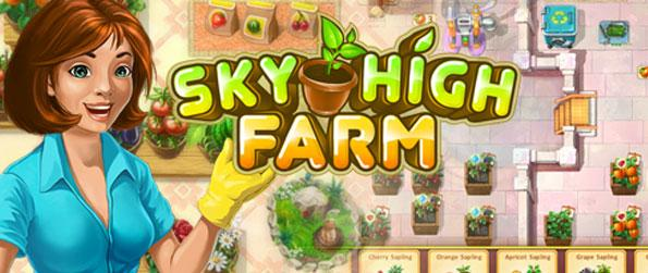 Sky High Farm - Sky High Farm, with its delightful graphics and animation, is an enticing and entertaining farming game for all ages. Its gameplay is also highly intuitive, but still with the right amount of challenge, for hardcore and casual gamers alike.