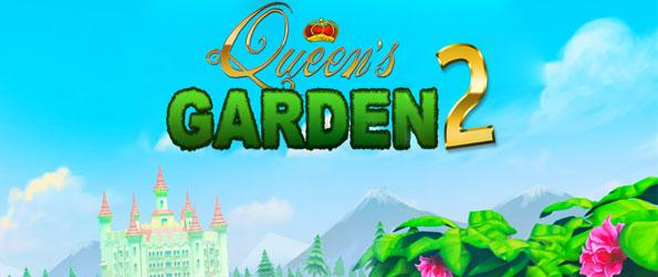Queen's Garden 2 - Join Jack as he builds an epic garden from scratch in this unique Match-3 adventure!