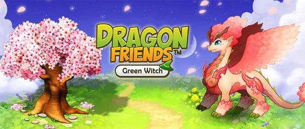 Dragon Friends: Green Witch - Build your own paradise island full of dragons.