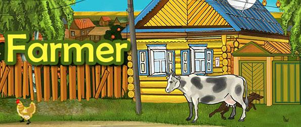 Farmer - Escape the city's busy life and resort to the lush greens of the countryside in this funny take on embracing the farm life in the Facebook game Farmer.