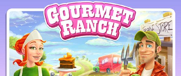Gourmet Ranch - Cook delicious gourmet dishes in your very own cafe using home grown crops and livestock in this wonderful farming game in facebook.