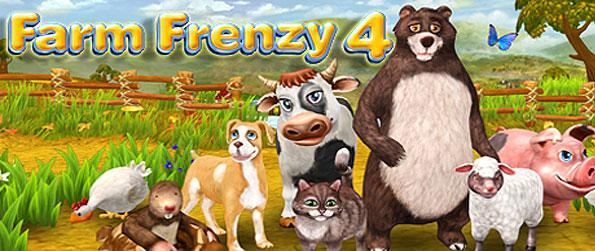 Farm Frenzy 4 - Save grandpa and grandma's farm from foreclosure in the wacky and wonderful Farm Frenzy 4!