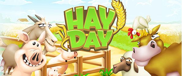 Hay Day - Enjoy all the fun farming activities such as planting, harvesting, crafting, herding, and most especially turning in a profit by selling in Hay Day!