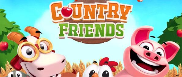Country Friends - Play this excellent farming game that can keep anyone for hours upon hours whenever they start it.