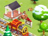 Happy Farm: Candy Day train track