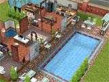 Build a beautiful home on Sims Free Play