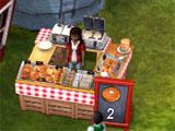 Farmers Market Waffle Seller