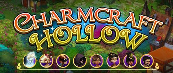 Charmcraft Hollow - Combine magical items and rare components to put together powerful items that will help restore magic in Charmcraft Hollow.