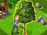 Happy Village: Chopping Trees