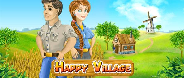 Happy Village - Grow your own farm from scratch and visit your friend's farms for collectibles.