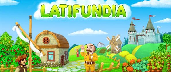 Latifundia - Plant trees, harvest their fruits and sell the fruits to earn cash.