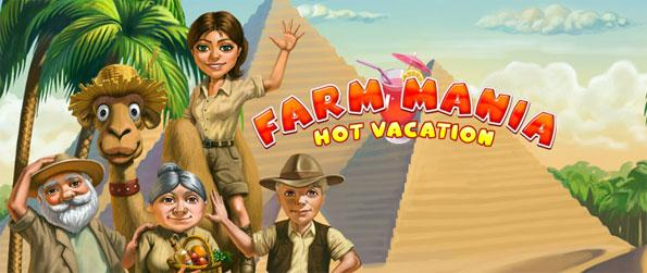 Farm Mania: Hot Vacation - Manage all those requests effectively -- you must not run out of time.