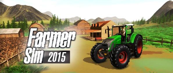 Farmer Sim 2015 - Be the best farmer in this open world farming simulator, Farmer Sim 2015!