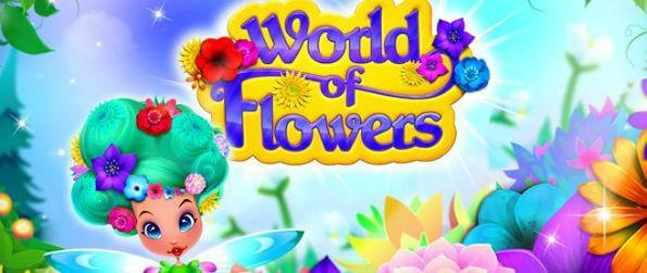 World of Flowers - World of Flowers is a cool way to avoid the boredom that comes with playing the same-looking match-3 games.