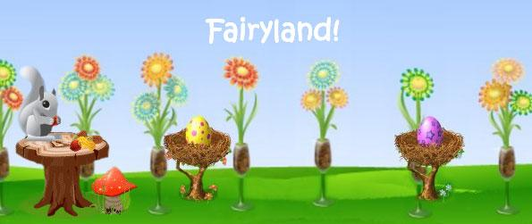 Fairyland - Welcome to Fairyland - Fantastic Flower Game!