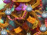 Level Map in Blossom Blast Saga