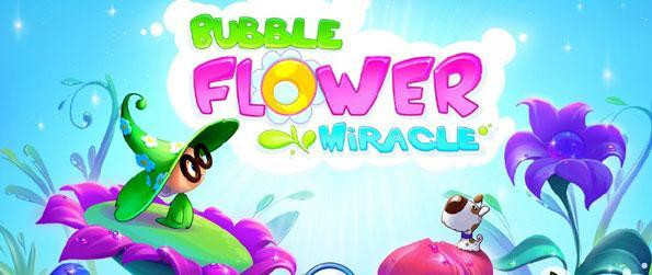Bubble Flower Miracle - Burst through a brilliant flower-bubble-matching fun in this wonderful bubble shooter game!