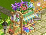 Flower Stand in Flower Ville