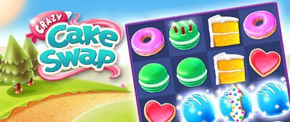 Crazy Cake Swap - Match together delicious cakes in this fun-filled match-3 game that doesn't disappoint.