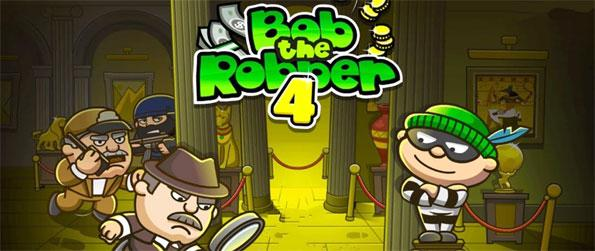 Bob The Robber 4 - Loot the wealthiest in Bob The Robber 4.