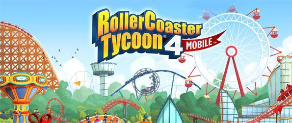 RollerCoaster Tycoon 4 Mobile - Enjoy this delightful rollercoaster simulation game that you can enjoy on the go whenever you have a few minutes to spare.